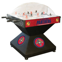 Holland Bar Stool DHDFlaPan 52 inch Florida Panthers Logo Deluxe Dome Hockey Table