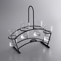 Acopa Metal Flight Carrier with Pub Tasting Glasses