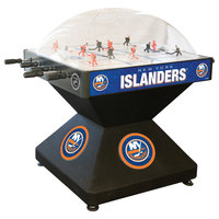 Holland Bar Stool DHDNYIsln 52 inch New York Islanders Logo Deluxe Dome Hockey Table