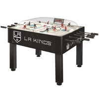 Holland Bar Stool DHBLAKing 54 inch Los Angeles Kings Logo Basic Dome Hockey Table
