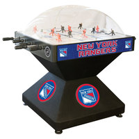 Holland Bar Stool DHDNYRang 52 inch New York Rangers Logo Deluxe Dome Hockey Table
