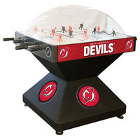Holland Bar Stool DHDNJDevl 52 inch New Jersey Devils Logo Deluxe Dome Hockey Table