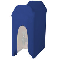 Snap Drape CCBDC50ROYAL Contour Cover Royal Blue 5 Gallon Spandex Beverage Dispenser Cover