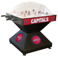Holland Bar Stool DHDWshCap 52 inch Washington Capitals Logo Deluxe Dome Hockey Table