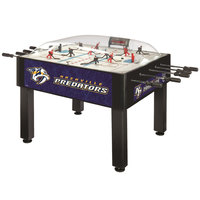 Holland Bar Stool DHBNshPre 54 inch Nashville Predators Logo Basic Dome Hockey Table