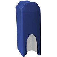 Snap Drape CCBDC25ROYAL Contour Cover Royal Blue 2.5 Gallon Spandex Beverage Dispenser Cover