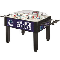 Holland Bar Stool DHBVanCan 54 inch Vancouver Canucks Logo Basic Dome Hockey Table