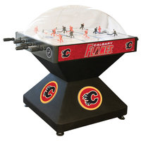 Holland Bar Stool DHDCalFla 52 inch Calgary Flames Logo Deluxe Dome Hockey Table