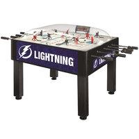 Holland Bar Stool DHBTBLght 54 inch Tampa Bay Lightning Logo Basic Dome Hockey Table