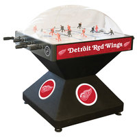 Holland Bar Stool DHDDetRed 52 inch Detroit Red Wings Logo Deluxe Dome Hockey Table