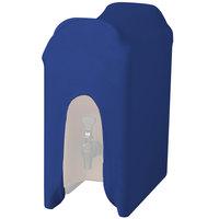 Snap Drape CCBDC10ROYAL Contour Cover Royal Blue 10 Gallon Spandex Beverage Dispenser Cover