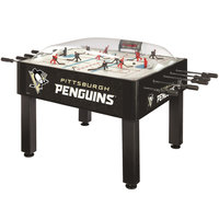 Holland Bar Stool DHBPitPen 54 inch Pittsburgh Penguins Logo Basic Dome Hockey Table