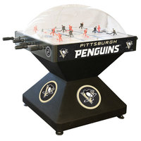 Holland Bar Stool DHDPitPen 52 inch Pittsburgh Penguins Logo Deluxe Dome Hockey Table