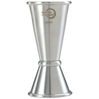 Mercer Culinary M37001 Barfly 20mL and 40mL Stainless Steel Japanese Style Jigger