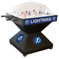 Holland Bar Stool DHDTBLght 52 inch Tampa Bay Lightning Logo Deluxe Dome Hockey Table