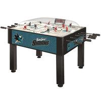 Holland Bar Stool DHBSJShar 54 inch San Jose Sharks Logo Basic Dome Hockey Table