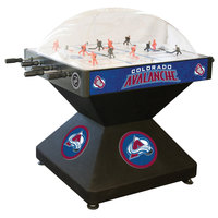 Holland Bar Stool DHDColAva 52 inch Colorado Avalanche Logo Deluxe Dome Hockey Table