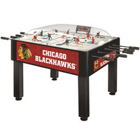 Holland Bar Stool DHBChiHwk 54 inch Chicago Blackhawks Logo Basic Dome Hockey Table