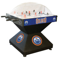 Holland Bar Stool DHDEdmOil 52 inch Edmonton Oilers Logo Deluxe Dome Hockey Table
