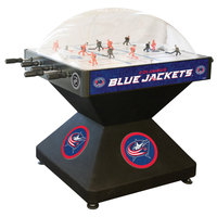 Holland Bar Stool DHDColBlu 52 inch Columbus Blue Jackets Logo Deluxe Dome Hockey Table