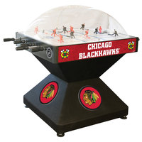 Holland Bar Stool DHDChiHwk 52 inch Chicago Blackhawks Logo Deluxe Dome Hockey Table