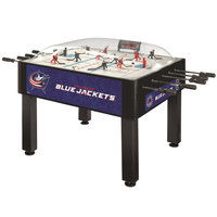 Holland Bar Stool DHBColBlu 54 inch Columbus Blue Jackets Logo Basic Dome Hockey Table