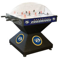 Holland Bar Stool DHDNshPre 52 inch Nashville Predators Logo Deluxe Dome Hockey Table