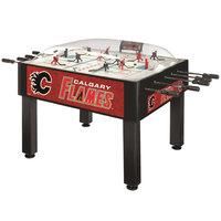 Holland Bar Stool DHBCalFla 54 inch Calgary Flames Logo Basic Dome Hockey Table