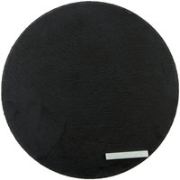 Core 12 inch Round Black Slate Tray with Soapstone Chalk - 12/Case