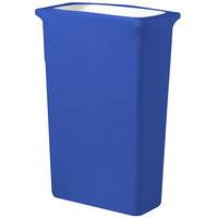 Snap Drape TCCCCSJ16ROYAL Contour Cover 16 Gallon Slim Jim Royal Blue Spandex Trash Can Cover