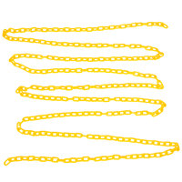Rubbermaid FG618400YEL 20' Yellow Wet Floor Barrier Chain