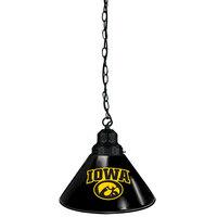 Holland Bar Stool BL1BKIowaUn University of Iowa Logo Pendant Light with Black Finish - 120V