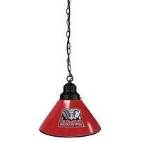 Holland Bar Stool BL1BKAL-Ele University of Alabama Logo Pendant Light with Black Finish - 120V
