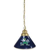 Holland Bar Stool BL1BRND-Lep University of Notre Dame Logo Pendant Light with Brass Finish - 120V