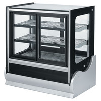 Vollrath 40887 48 inch Cubed Refrigerated Countertop Display Cabinet with Front Access