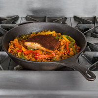Valor 15 inch Pre-Seasoned Cast Iron Round Skillet