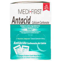 Medi-First 80233 Antacid Tablets - 100/Box