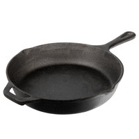 Valor 10 1/4 inch Pre-Seasoned Cast Iron Skillet with Helper Handle