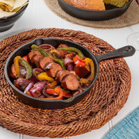 Valor 8 inch Pre-Seasoned Cast Iron Mini Round Skillet