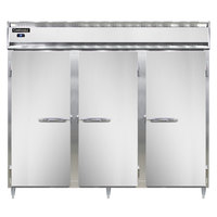 Continental DL3RE-SS 86 inch Extra-Wide Solid Door Reach-In Refrigerator