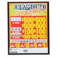 Diamond Mine 5 Window Pull Tab Tickets - 4000 Tickets per Deal - Total Payout: $3000