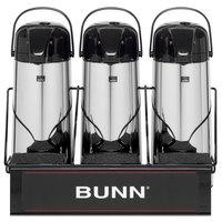 Bunn 25371.0003 APR3 Three Section Airpot Serving Rack