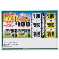 Bonus Moose 1 Window Pull Tab Tickets - 501 Tickets per Deal - Total Payout: $385