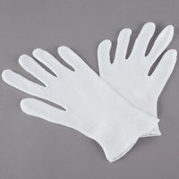 Men's Medium Weight Polyester / Cotton Reversible Lisle Gloves - Extra Large - Pair - 12/Pack