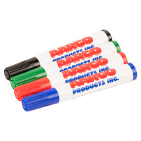 Aarco M-4 Dry Erase Markers - Pack of 4 - 4/Pack