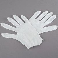 Women's Lightweight Cotton Reversible Lisle Gloves - Large - Pair - 12/Pack