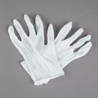 Men's Lightweight Cotton Reversible Lisle Gloves - Extra Large - Pair - 12/Pack