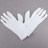Men's Stretch Nylon Reversible Inspector's Gloves - Large - Pair - Size L - 12/Pack