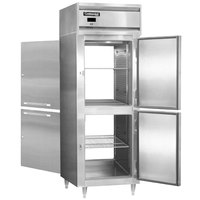 Continental DL1RX-SS-PT-HD 36 inch Extra-Wide Solid Half Door Pass-Through Refrigerator