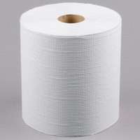Lavex Janitorial 800' White Hardwound Roll Paper Towel - 6/Case